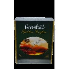 Greenfield - Цейлонский чай 100 пакетиков
