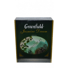 Greenfield зеленый чай с жасмином 100п