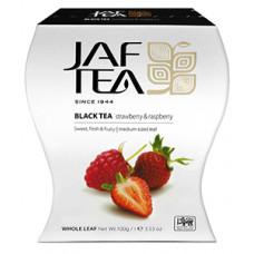 Чай Jaf Tea Клубника с малиной